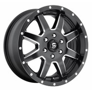 Fuel Off-Road Maverick Wheel - 1 PC. Black & Milled (Sprinter)