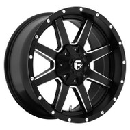 Fuel Off-Road Maverick Wheel - 1-Pc. Black & Milled