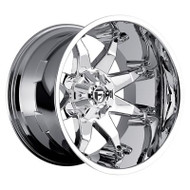 Fuel Off-Road Octane Wheel - Chrome Deep