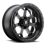 Fuel Off-Road Savage Wheel - Black & Milled