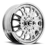 Fuel Off-Road Throttle Front Dually Wheel - Chrome
