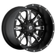 Fuel Off-Road Throttle Wheel - Black/Mill Machine