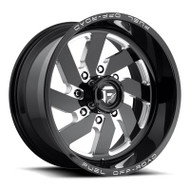 Fuel Off-Road Turbo Wheel - Black & Milled