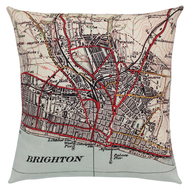 Brighton and Hove cushion
