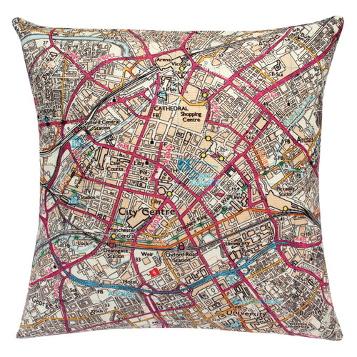 Manchester contemporary cushion