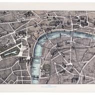 LONDON TEA TOWEL 1889