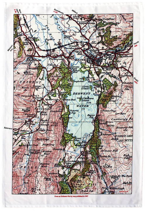 DERWENT WATER TEA TOWEL