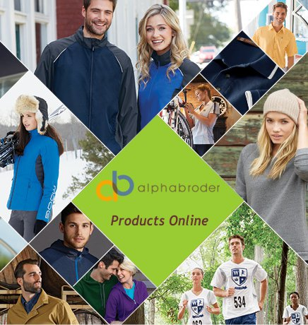 View Alphabroader Product Line Online