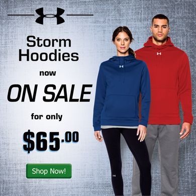 Shop for Under Armour Storm Hoodies