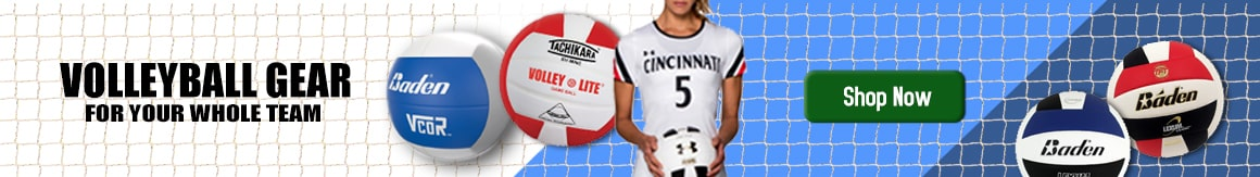 Shop Volleyballs, Nets, Players Equipment and More
