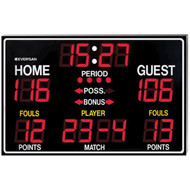 9765 Electronic Scoreboard 8'x5' w/Led Digits