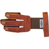 Deluxe Leather Glove with Elastic Back and Velcro