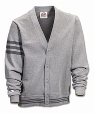 Rugby Cardigan - Oxford/Coal