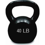 Cast Iron Kettlebell 40 lbs