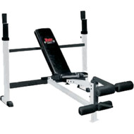 Combo bench and leg developer