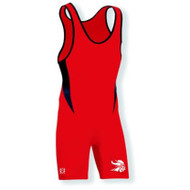 Brute Bold High Cut Wrestling Singlet - YOUTH