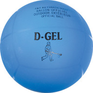 "Official Broomball 6"" Laminated Blue Vinyl Outdoor Ball"