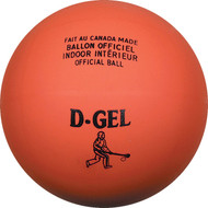 "Official Broomball 6"" Laminated Orange Indoor Ball"