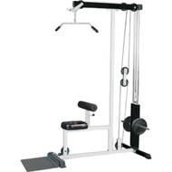 Lat Machine -  Hi-low pulley system