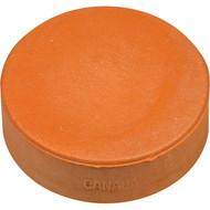 Orange 3 oz Sponge Practice puck