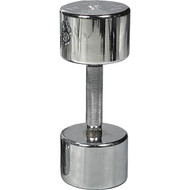 Chrome Dumbell - 25 lbs