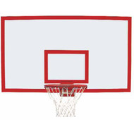 "Gared 42"" x 72"" Steel Rectangular Backboard"