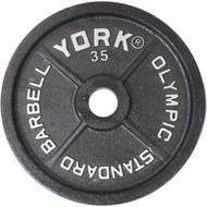 York 35 lb. Olympic plate