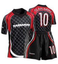Barbarian CAGE Sublimated Jersey Design
