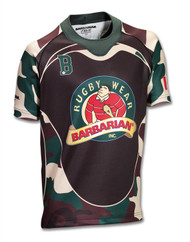 Barbarian CAMO Sublimated Jersey Design