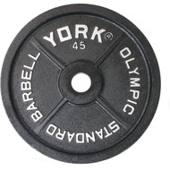 York 45 lb. Olympic plate
