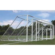 AlumaGoal Auminum Round Soccer Goal - 21' Wide