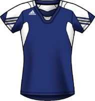 Adidas Women's On Field Cap Sleeve Jersey - Royal