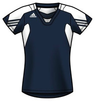 Adidas Women's On Field Cap Sleeve Jersey - Navy