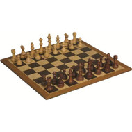 Hand carved Chess board and pieces