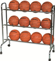 Economy 3-Shelf Ball Cart