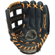 "11"" Baseball P.E. Glove -  nylon back/leather front -  Regular"