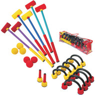 Foam Indoor Croquet Set