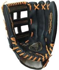 "13"" Baseball P.E. Glove -  nylon back/leather front -  Regular"