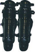 Economy Catchers Adults Leg Guards - BLACK