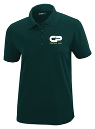 Performance Short Sleeve Pique Polo -  Female - Forest Green