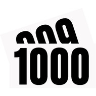 Competitor Numbers #901 to #1000