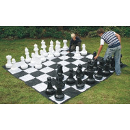 Giant Chess Set With Mat