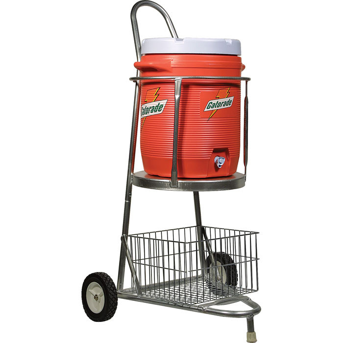 Portable Cooler Carrier c/w Wire Basket