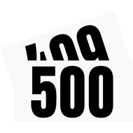Competitor Numbers #401 to #500