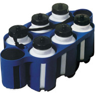 Water bottle/Carrier set (6 bottles)