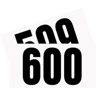 Competitor Numbers #501 to #600