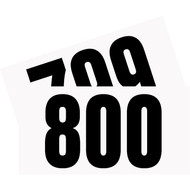 Competitor Numbers #701 to #800