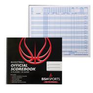 BSN Basketball Scorebook (30 Games)