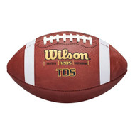 Wilson TDS Senior Leather Football - High School Size