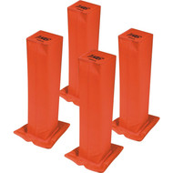 "18"" high goal pylon set"